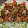 Шашлык из цыплёнка (корнишон)
