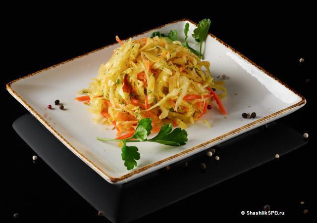 Жёлтый салат