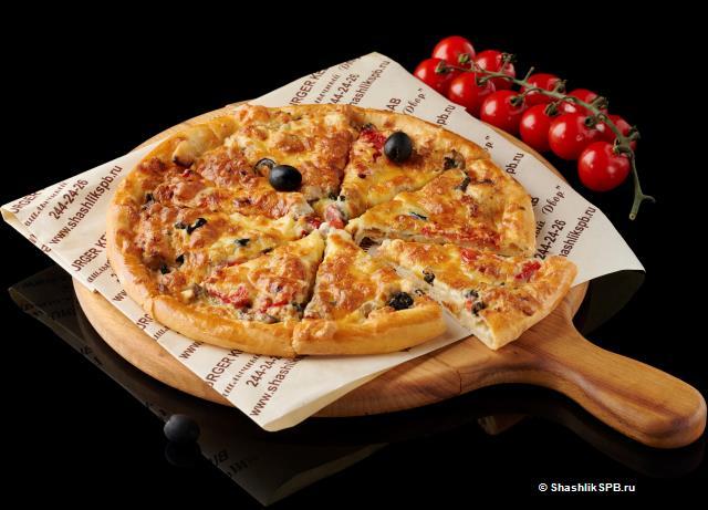 Сливочная фирменная пицца (25см)