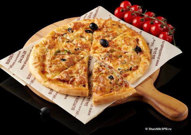 Пицца - Кебаб из курицы (25 см)
