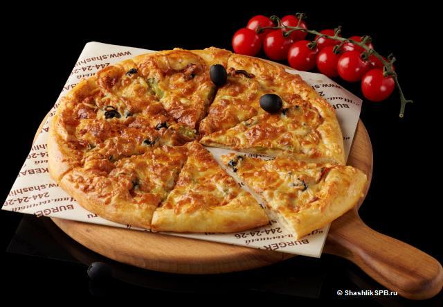 Пицца - Кебаб из телятины (25 см)