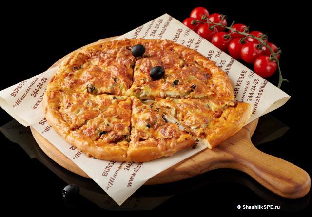 Пицца - Кебаб из баранины (25 см)