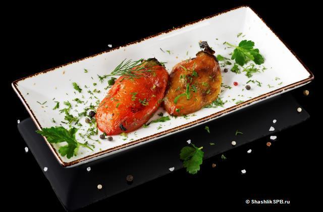 Болгарский перец на мангале