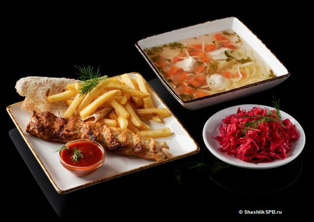 Обед Куриный (с 11.00 до 16.00)